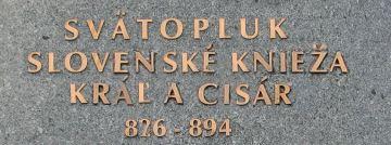 Svätopluk - slovenské knieža, kráľ a cisár