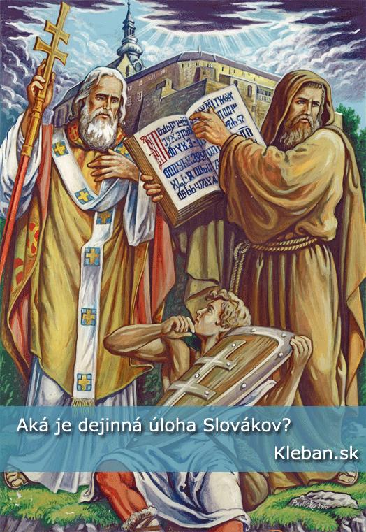 Obr. Cyril a Metod (autor Ivan Pavlisko)