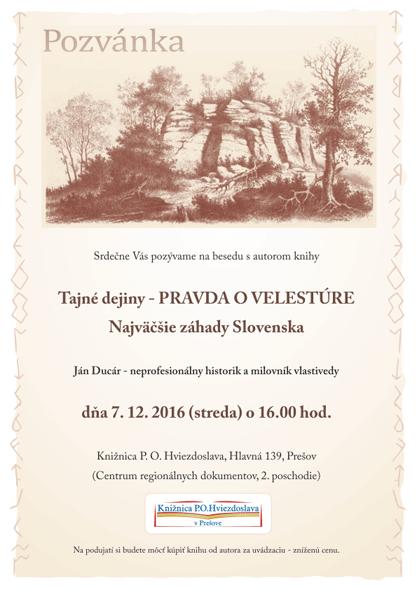 Kleban.sk Ján Ducár - Pravda o Velestúre