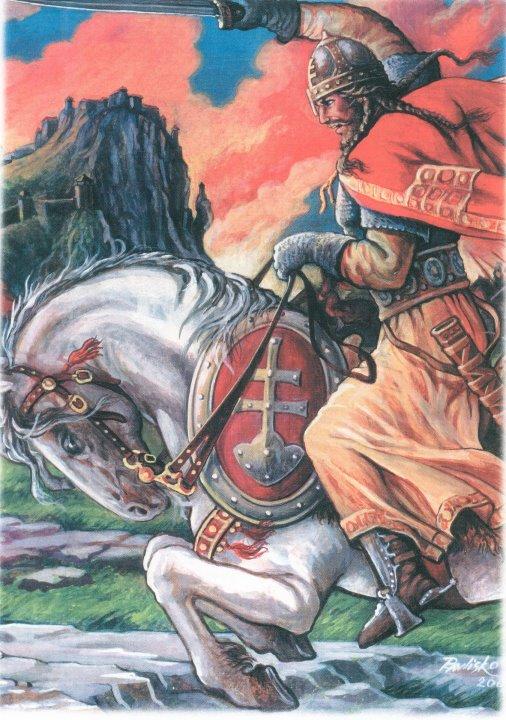Obr. Sloven (autor Ivan Pavlisko)